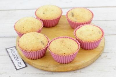 Кексы рецепты простые в формочках на молоке пошаговый рецепт пошагово 18