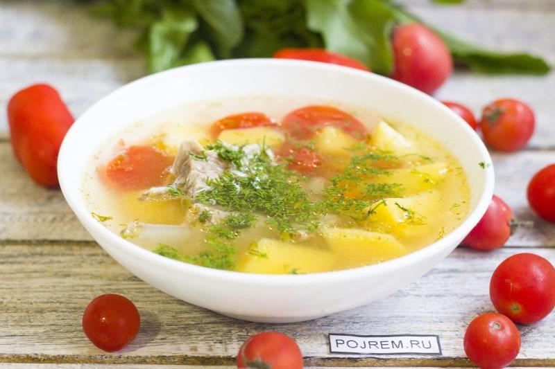 рецепт суп из баранины с фасолью рецепты