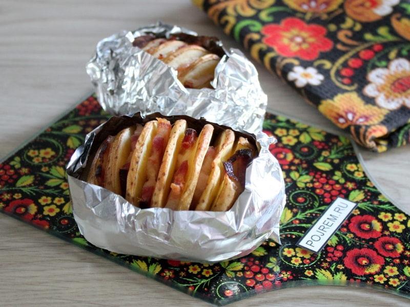 Рыба в духовке рецепты с картошкой в рукаве в духовке