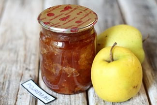 Варенье с яблоком и лимоном на зиму