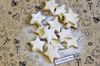 Вкусное домашнее печенье из творога со сметаной