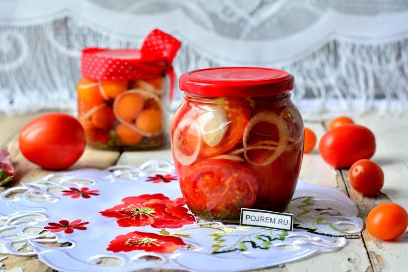 помидоры «пальчики оближешь»