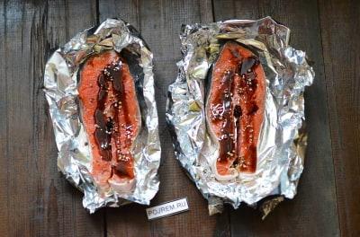 речная рыба в фольге в духовке пошаговый рецепт