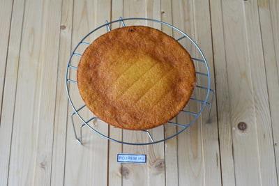 пошаговый рецепт коржей для торта