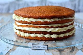 Простой рецепт коржей для торта