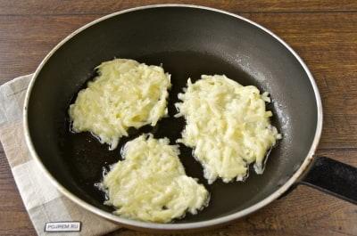 драники с картошки и кабачков