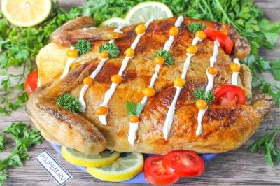 утка с гречкой в духовке в рукаве пошаговый рецепт