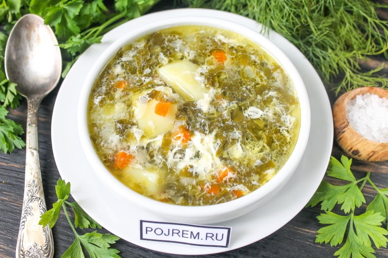 щавелевый суп рецепт на зиму