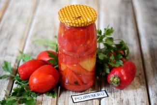 Перец в томатной заливке