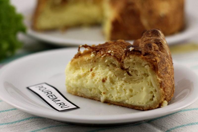 пирог с яйцом и рисом в духовке рецепт с фото пошаговый