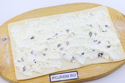 Слоеное тесто рецепты из него с творогом