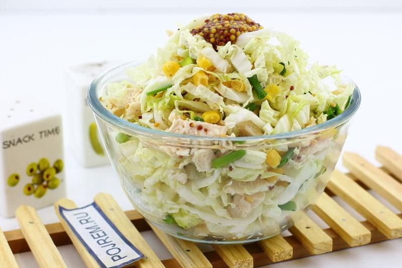 Салат из пекинской капусты. Рецепт с фото 69