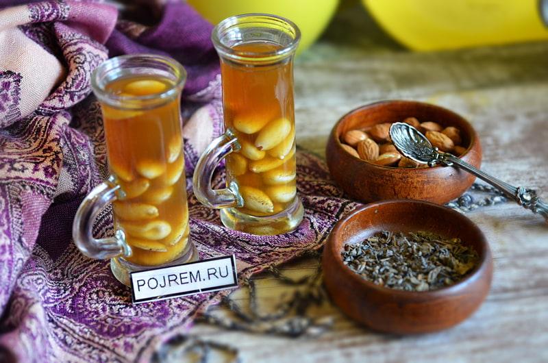 зелёный чай по-арабски
