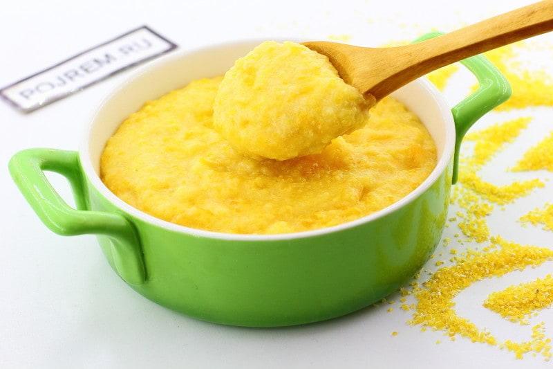 кукурузная каша сладкая приготовление