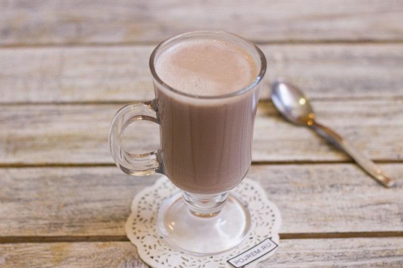 как приготовить какао с молоком
