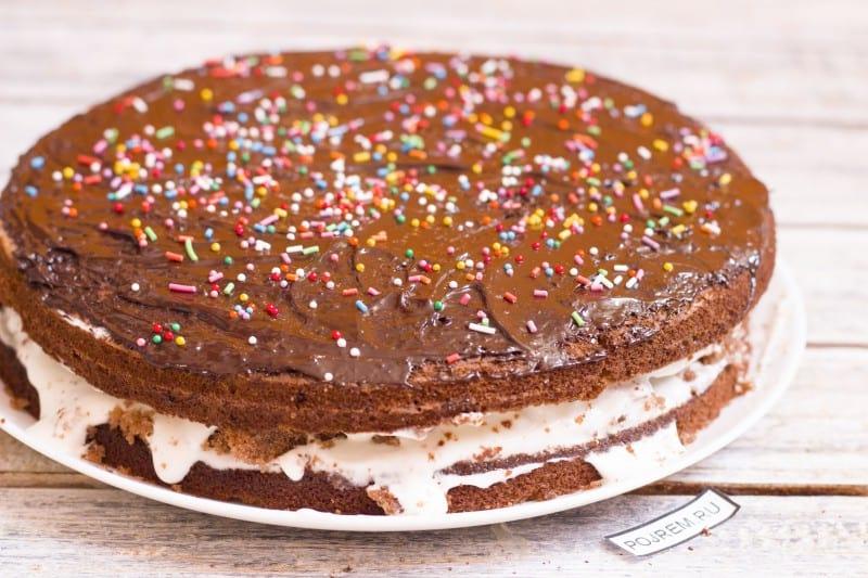 Как сделать пирог с какао