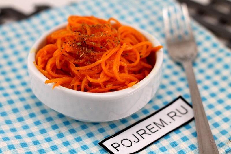 Морковь по-корейски (пошаговый рецепт с фото)