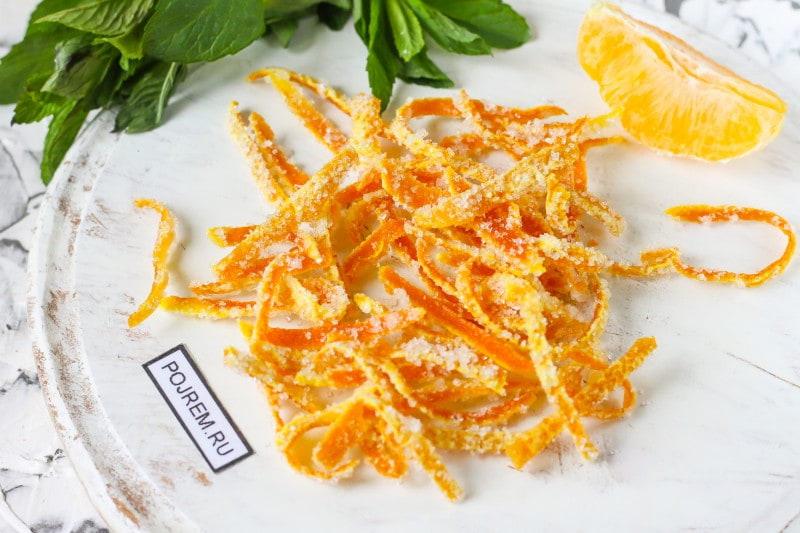 цукаты из апельсиновой кожуры