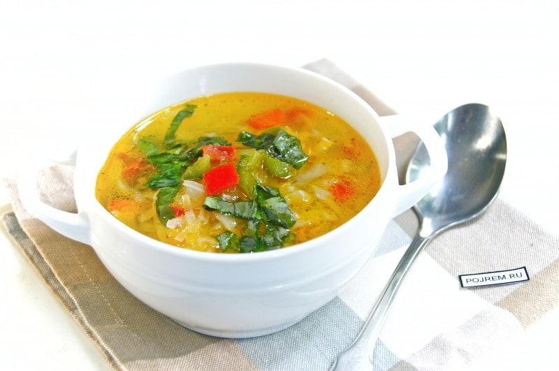 суп диетический рецепт с фото и калорийность