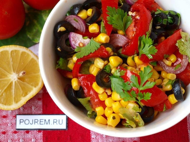 Салат средиземноморский: вкуснсые рецепты с фото