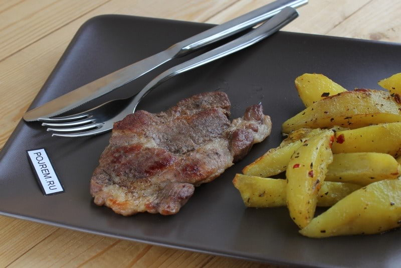 рецепты приготовления мяса на сковороде свинины