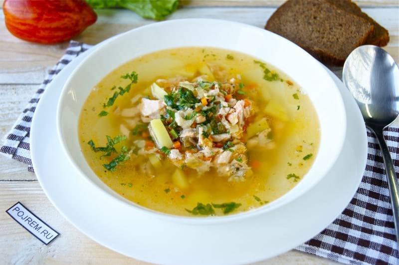 супы рыбные рецепты с фото