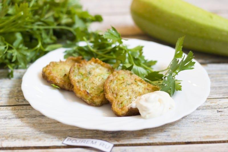 как приготовить оладушки из кабачков пошаговый рецепт