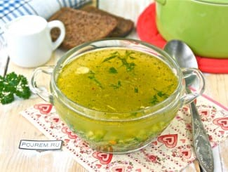 Суп куриный с брокколи и овощами