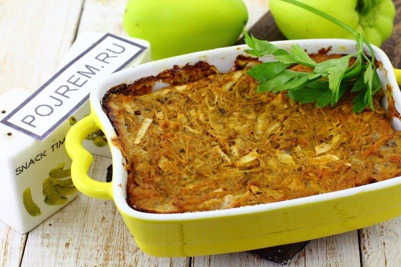 запеканка из кабачков и картофеля в духовке