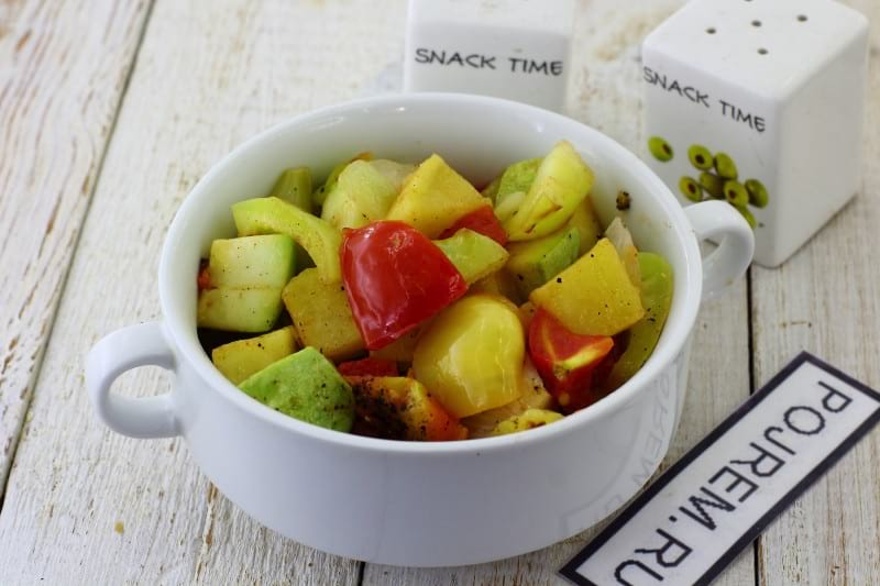 овощное рагу с кабачком и картошкой