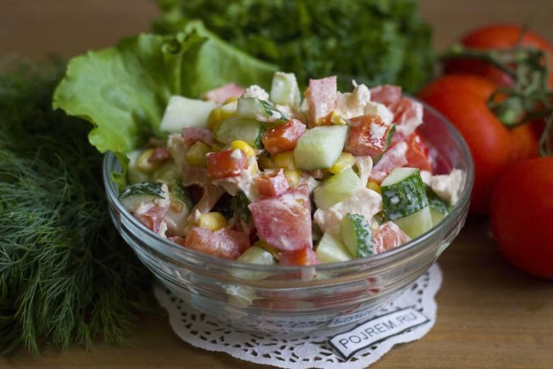 салат парижель