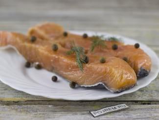 Засолка лосося